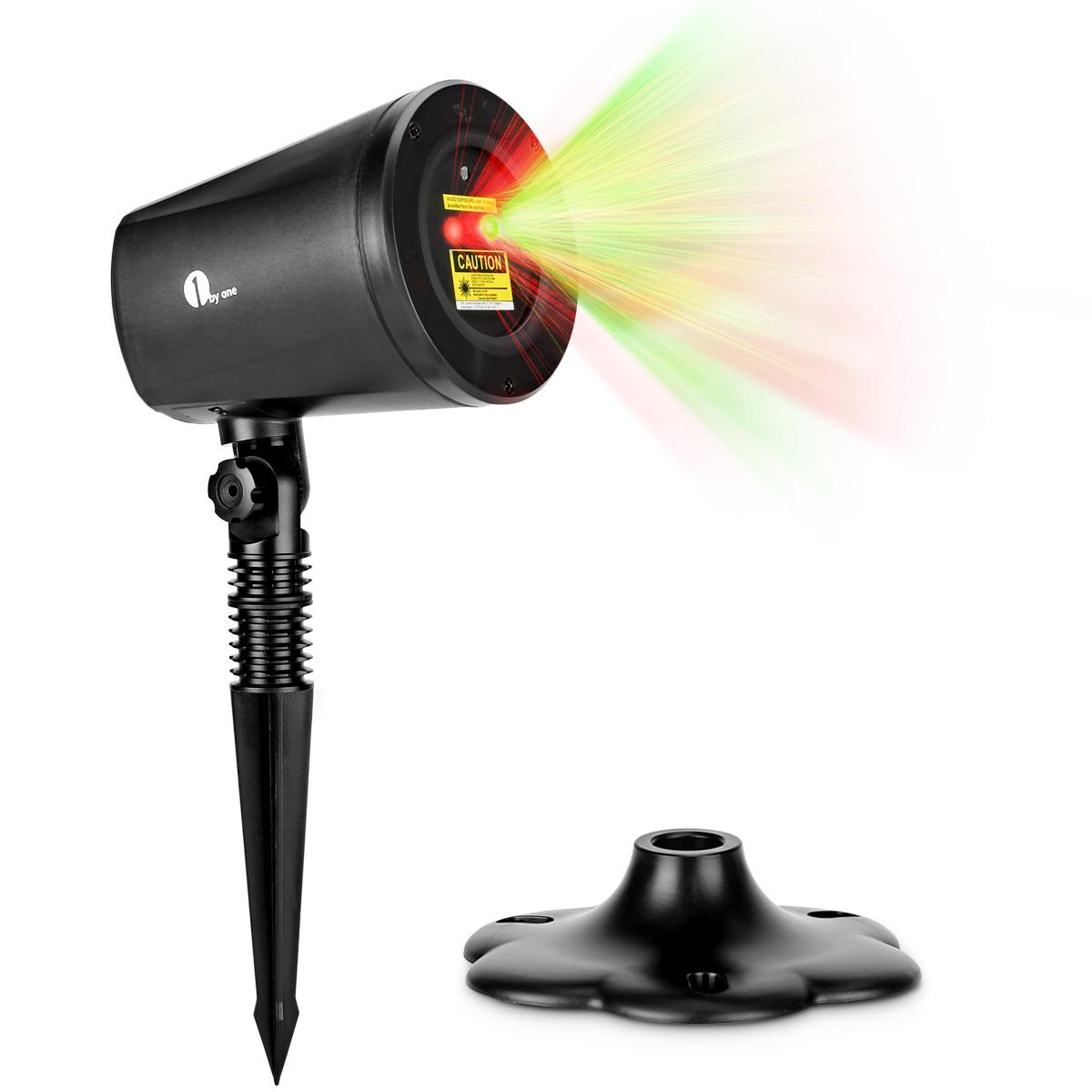 Patio Lights Amazon Ca: 1byone Magic Outdoor And Indoor Christmas Laser Light