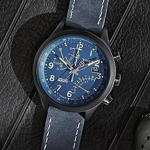 Timex IQ Fly-Back Chrono