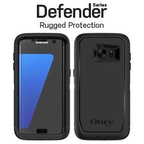 sale retailer 049bc a91a6 OtterBox DEFENDER SERIES Case for Samsung Galaxy S7 Edge - Frustration Free  Packaging - BLACK