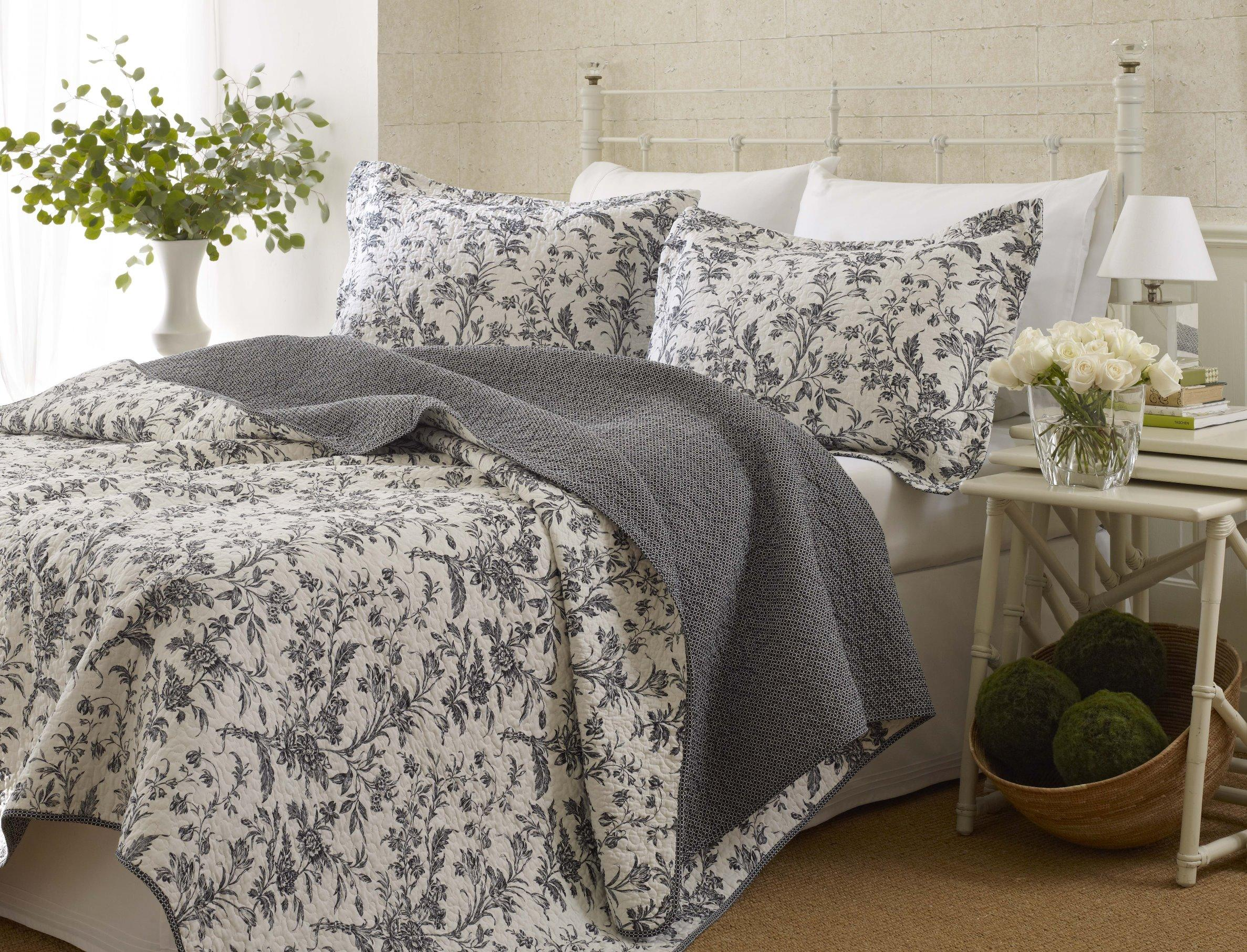 sets home bedding blues piece nina king microfiber vcny p set quilt