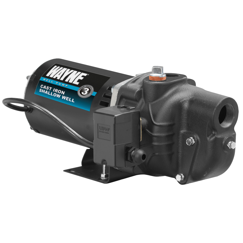 WAYNE SWS50 1/2 HP Cast Iron Shallow Well Jet Pump - Portable Power ...