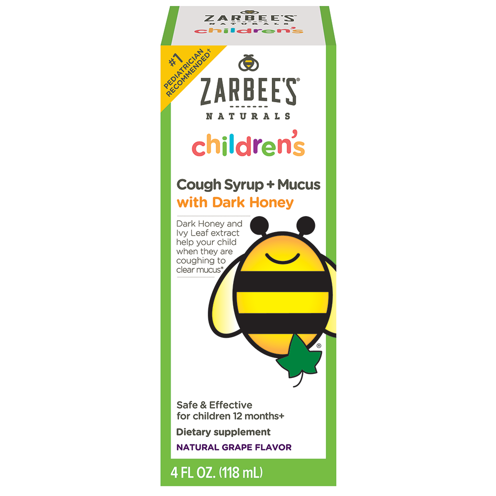 Zarbee S Naturals Children S Cough Syrup