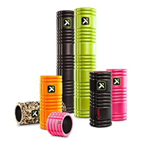 Trigger Point GRID Foam Rollers for relief of muscle knots and pain