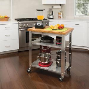 kitchen island - Stainless Steel Kitchen Island