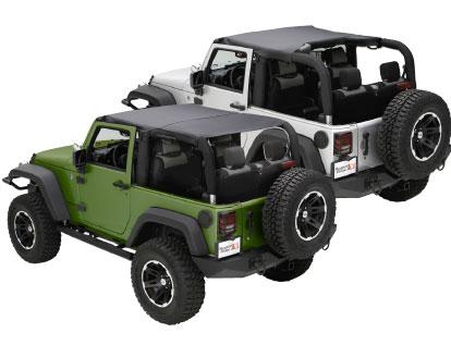 Black Island Topper Soft Top for Jeep JK 2010-2018 2 Door 13591.35 Rugged Ridge