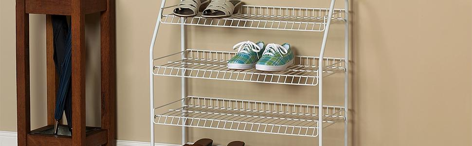 Merveilleux 4 Tier Shoe Rack