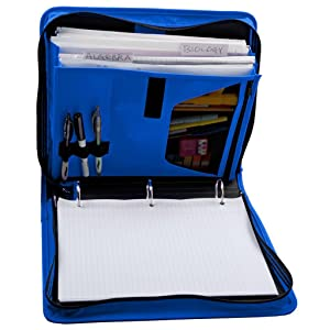 Amazon Com Five Star 1 1 2 Inch Zipper Binder Durable