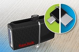 SanDisk Ultra Dual USB Drive 3.0, SDDD2 16GB