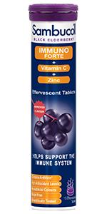 Sambucol Immuno Forte Effervescent 15 Tablets
