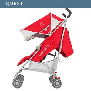Amazon.com: Maclaren Quest Pushchair, azul/índigo: Baby