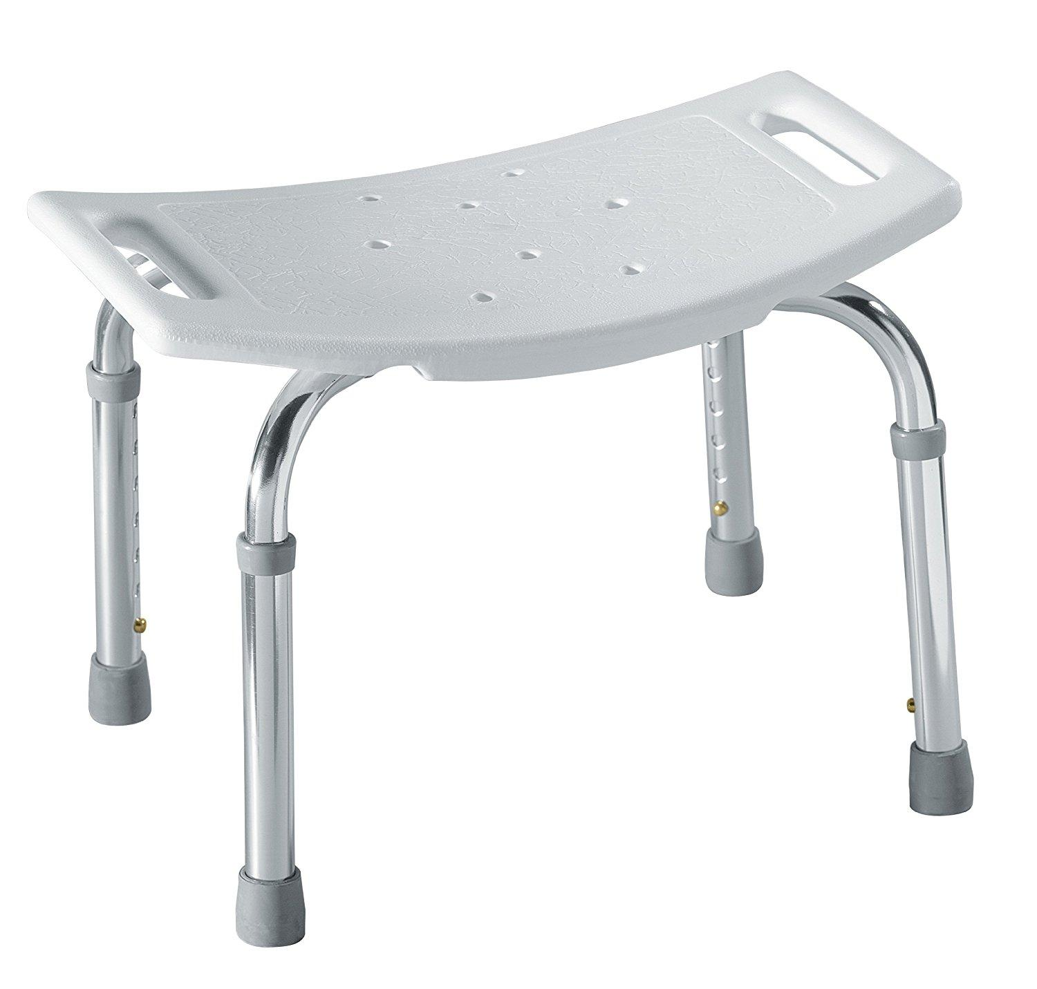 Amazon.com: Moen DN7025 Adjustable Tub and Shower Seat, White: Home ...
