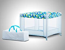 Amazon Com Joovy Toy Room2 Playard Blue Dot Toys Amp Games