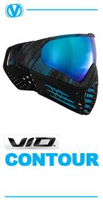 virtue vio contour thermal paintball mask goggle chromatic graphic series
