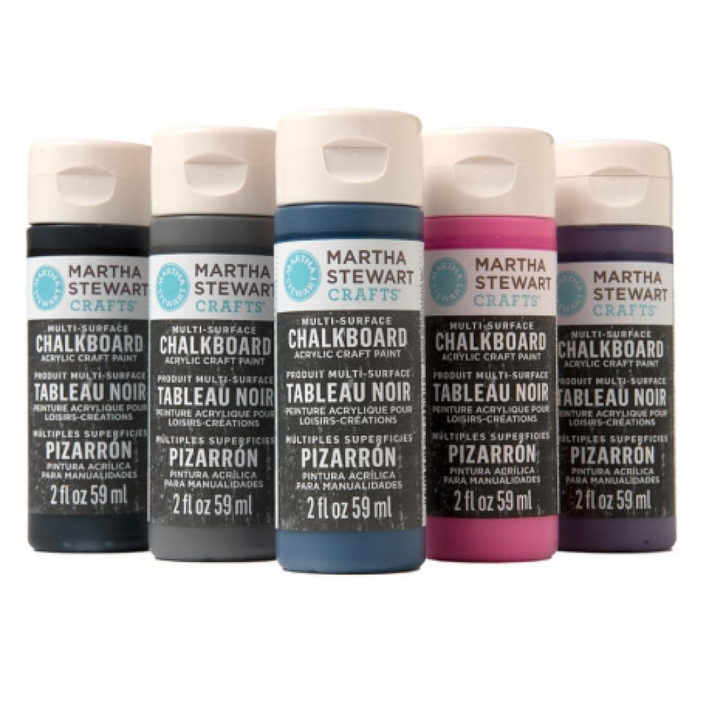 How To Use Martha Stewart Chalkboard Paint On Glass