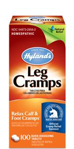 Hyland's leg cramps, muscle cramp, tablets, pills, homeopathic