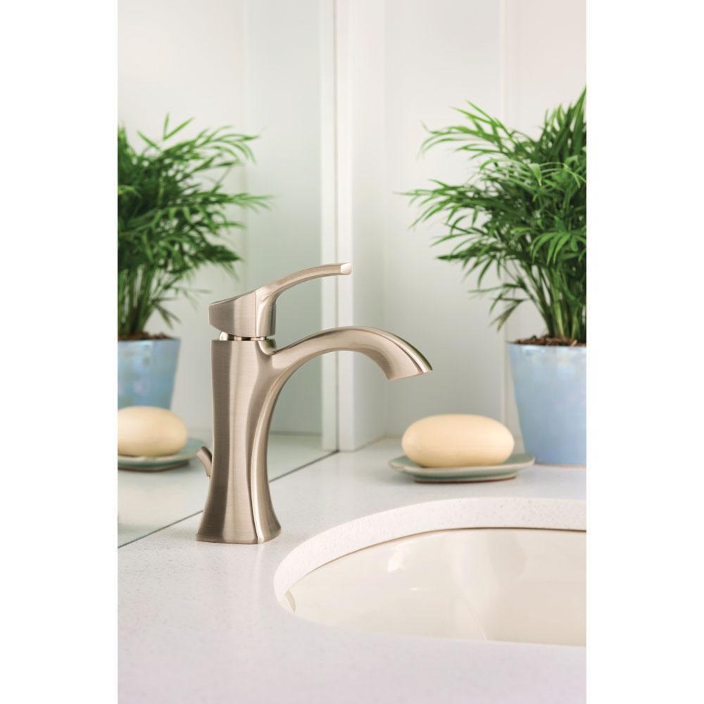 Moen 6903 Voss One-Handle High Arc Bathroom Faucet, Chrome, Touch ...