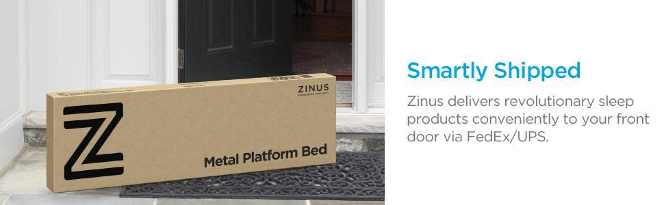 Amazon Com Zinus Joseph Modern Studio 6 Inch Platforma