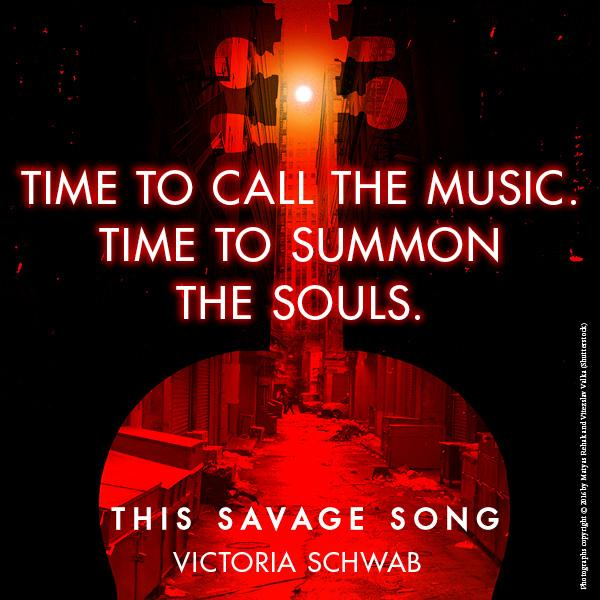 This Savage Song Victoria Schwab 9780062380852 Books Amazon Ca