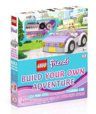 Lego Friends Build Your Own Adventure With Lisa Mini Doll And