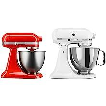 Amazon Com Kitchenaid Ksm3311xqg Artisan Mini 3 5 Quart Tilt Head Stand Mixer Qt Liquid Graphite Kitchen Dining