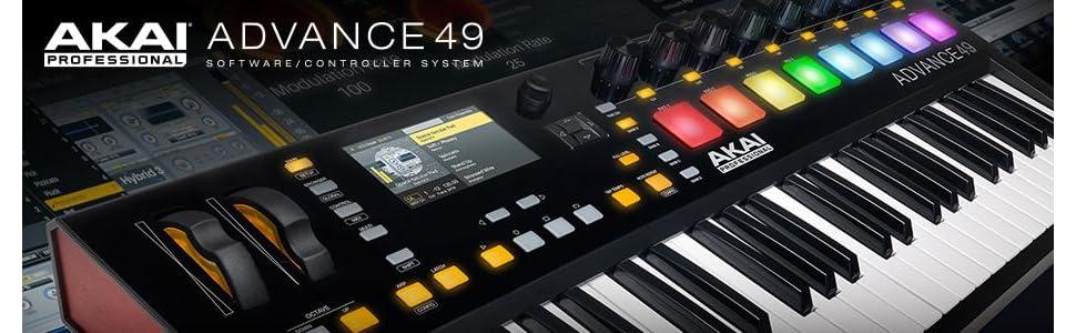 Akai Professional Advance 49 49-Key Virtual Instrument Production Controller