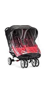 Amazon Com Baby Jogger City Mini Weather Shield Double
