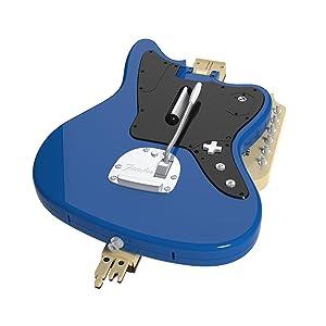 Rock Band Wireless Fender Jaguar Guitar Controller for PS4 Foldable Design