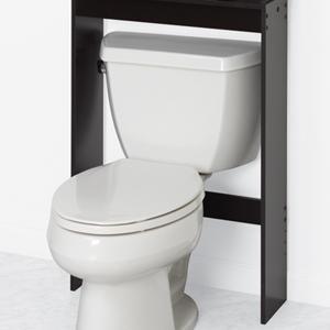 Zenna Home Over The Toilet Bathroom Spacesaver Bathroom Storage With Glass Windows Espresso Home Kitchen