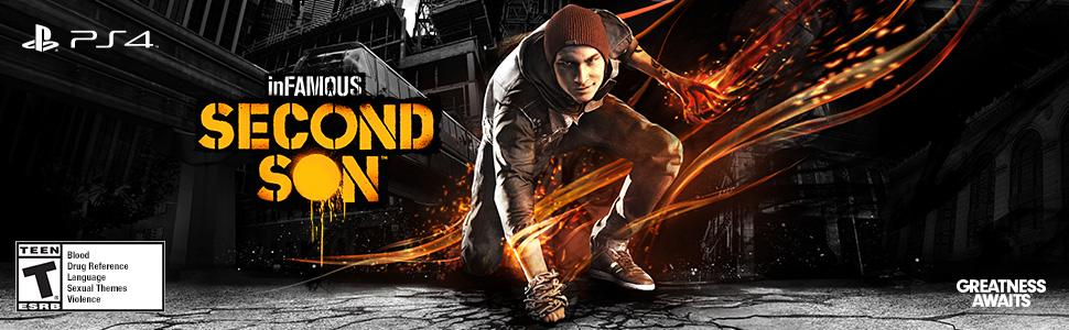 infamous;second;son;iss;ps4;playstation