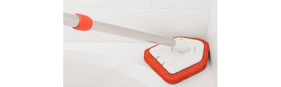 Amazon Com Oxo Good Grips Extendable Tub And Tile