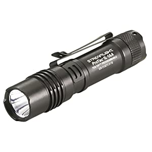 Streamlight 88061 ProTac 1L-1AA Dual Fuel Professional Tactical Light, angled view.