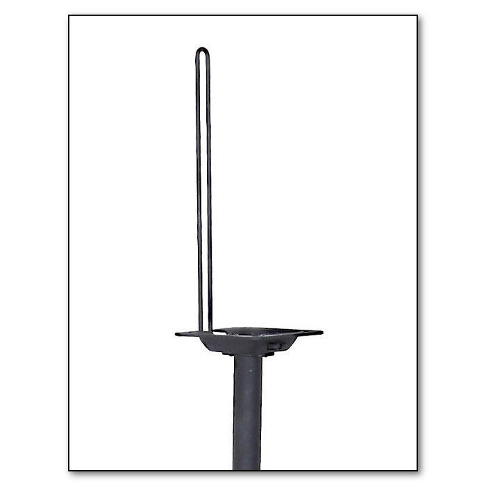 atlantic satellite 77305018 2 speaker stands  black