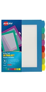 avery ultralast dividers best dividers strongest dividers