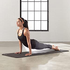 AmazonBasics 1 2 Inch Extra Thick Yoga And Exercise Mat With Carrying Strap