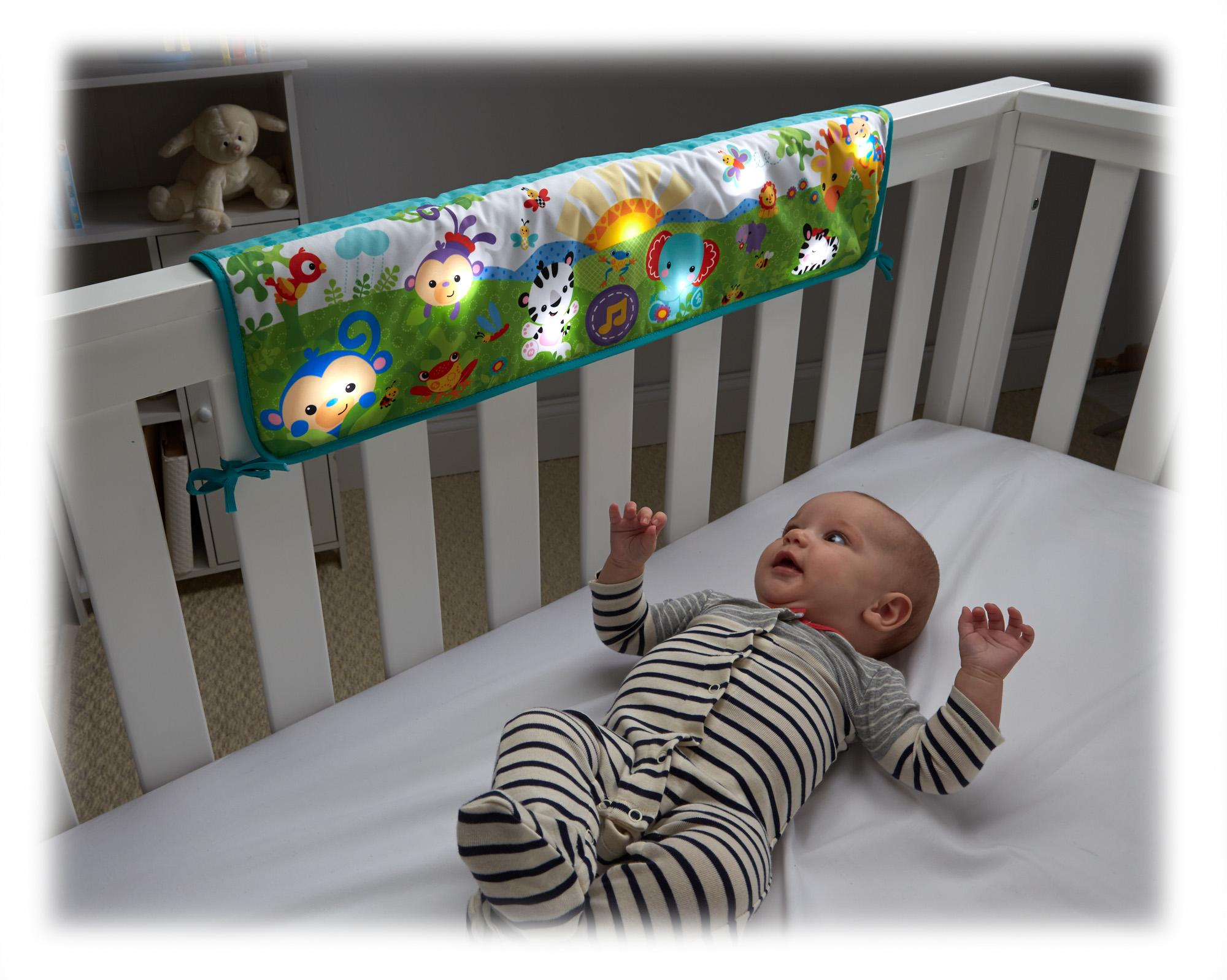 Amazon Com Fisher Price Twinkling Lights Crib Rail