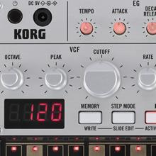 Korg Volca Bass analog filter