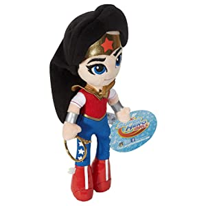 b19f6104 Amazon.com: DC Super Hero Girls Mini Wonder Woman Plush Doll: Toys ...