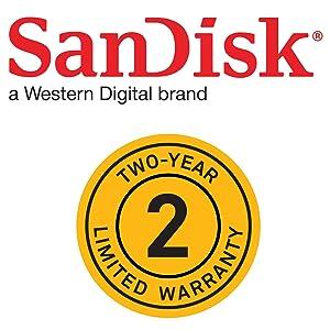 SanDisk Two Year Warranty