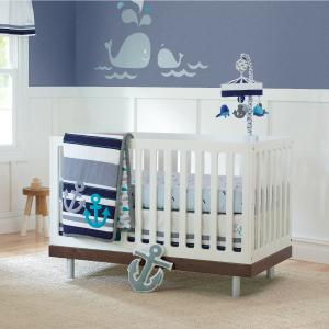 Amazon Com Just Born Animal Kingdom 3 Piece Crib Bedding