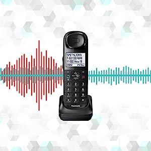 Panasonic KX-TGL433B Hear Calls from Noisy Places