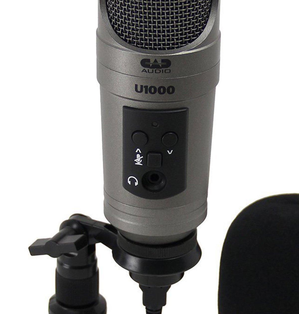 cad u1000 usb studio condenser microphone musical instruments. Black Bedroom Furniture Sets. Home Design Ideas