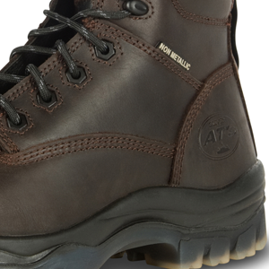42637 Honeywell Safety Products USA 42637-BRN-110 Brown Oliver 42 Series 6 Soft Toe Mens Leather Work Boots