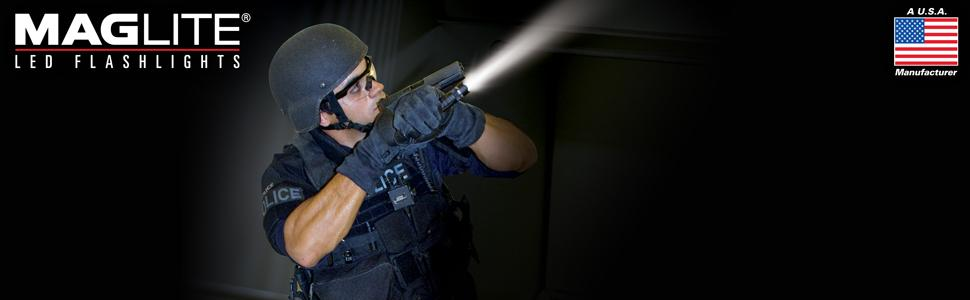 Maglite, USA, LED, TACTICAL, Flashlight, MAGTAC, Quality, Durability, Reliability