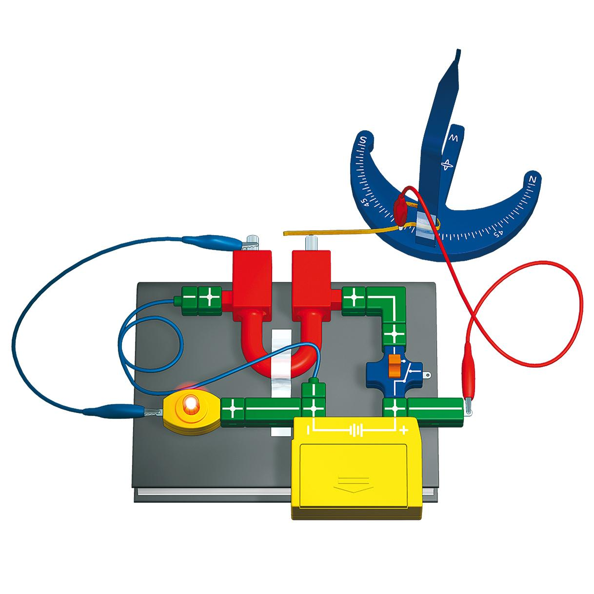 Thames & Kosmos Electricity and Magnetism, Magnet & Felt ...
