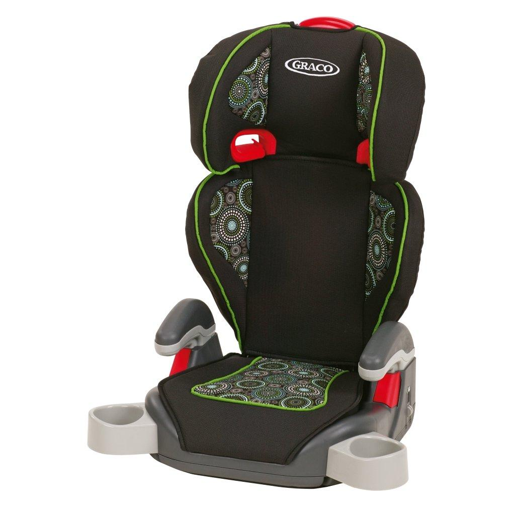 graco highback turbobooster car seat go green baby. Black Bedroom Furniture Sets. Home Design Ideas