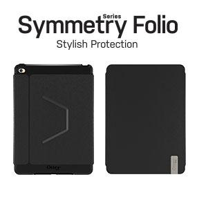 competitive price 63934 6cbc7 Otterbox SYMMETRY SERIES FOLIO Case for iPad Air 2 - Retail Packaging -  BLACK