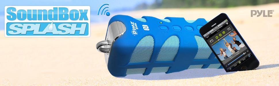 pyle, pwp, pwpbt, pwpbtn, pwpbtn65, sound, box, soundbox, splash, bluetooth, wireless, audio, music
