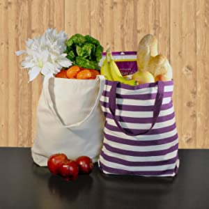 Farmers market,grocery store,groceries,reusable bags,lunch bags,totes,canvas totes,purse