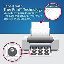 Avery True Print for better print alignment