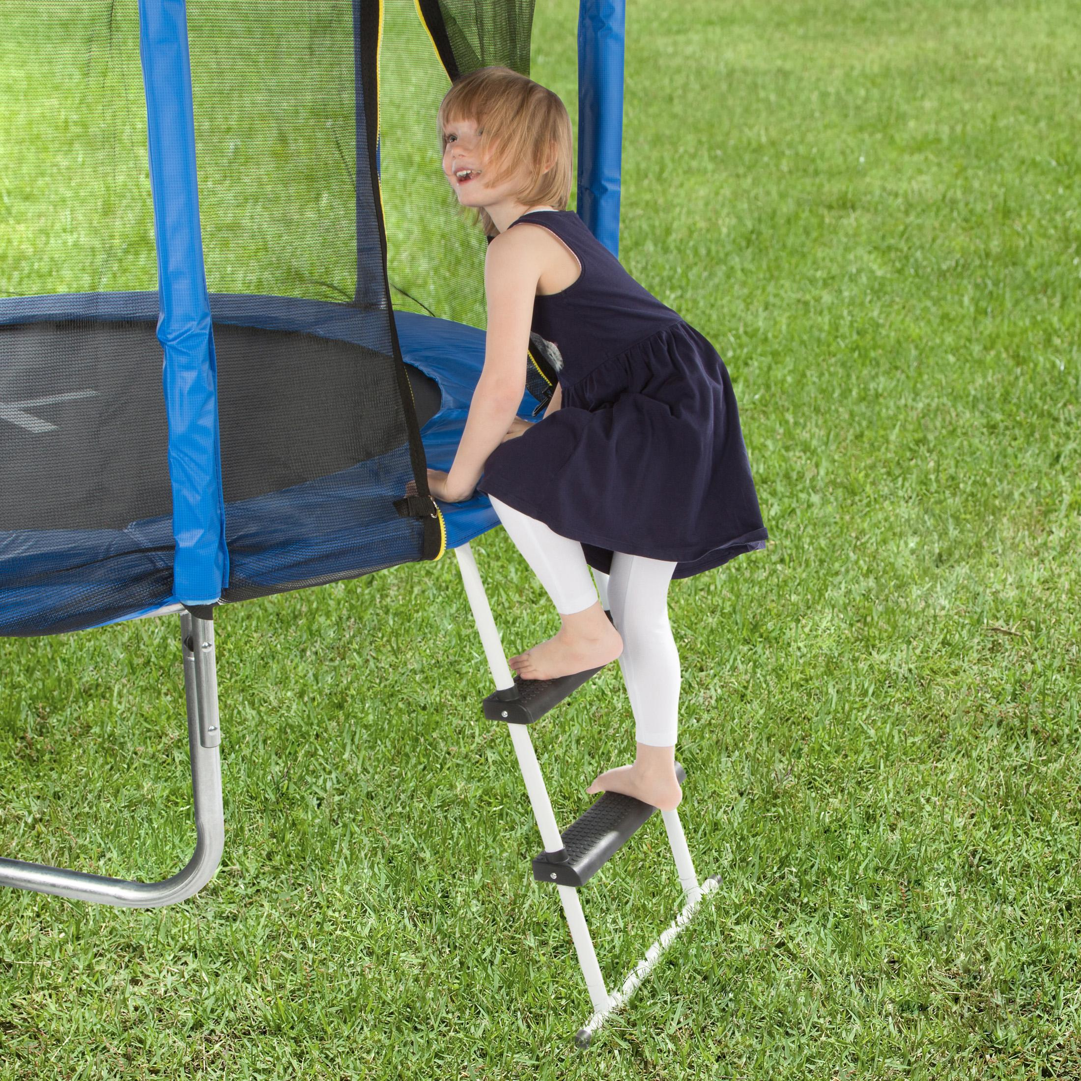 Amazon.com : Ultega Trampoline Ladder With Ground Cross